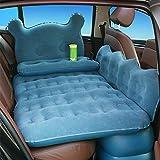Utilizzo: ampio sedile posteriore progettato, può essere utilizzato come futon o materassino per auto. Il design unico mantiene il sedile posteriore piatto riempiendo lo spazio tra il sedile e il pavimento. Qualità Premium: realizzato con PVC resiste...