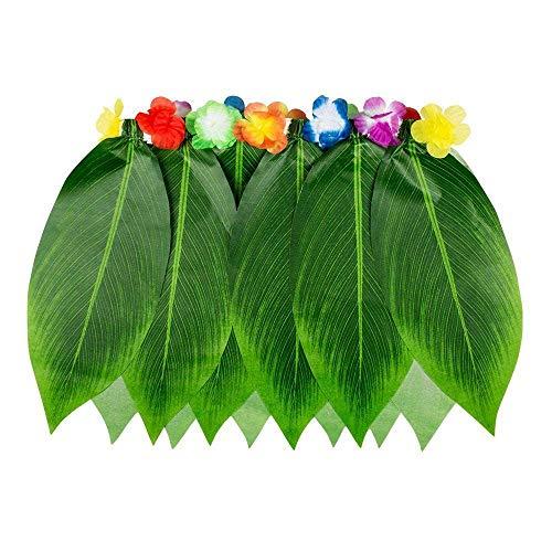 Boland 52245 Hawaii Rock Palmblätter, Womens, One Size Jupe hawaïenne feuilles de palmier, Femme, 10117945, multicolore, Taille unique
