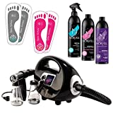 Naked Sun Fascination Spray Tanning Machine System Kit with Norvell...