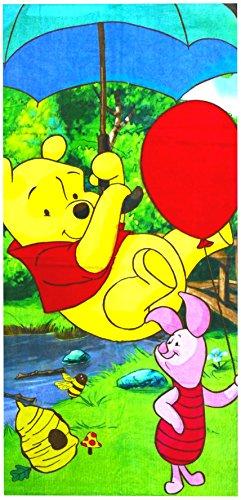 Winnie the Pooh & Piglet 5094 - Toalla de playa (70 x 140 cm)