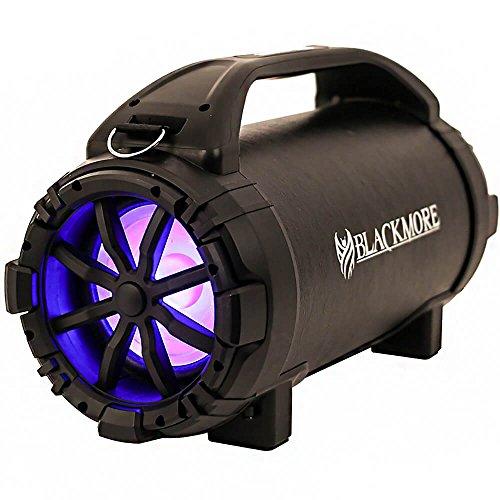 Blackmore BTU-5001 Rechargeable Speaker w/Bluetooth/FM/USB/TF/Mic-in Black