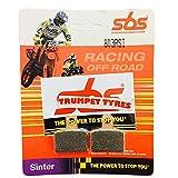 Jotagas JT 125 / JT 250 / JT 280 / JT 300 14 15 16 17 18 19 SBS Performance - Juego de pastillas de freno sinterizadas para carreras