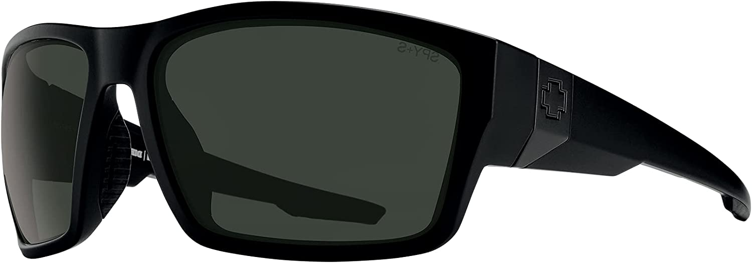 SPY Dirty Mo Rectangle Sunglasses for MEN + FREE Complimentary Eyewear Kit