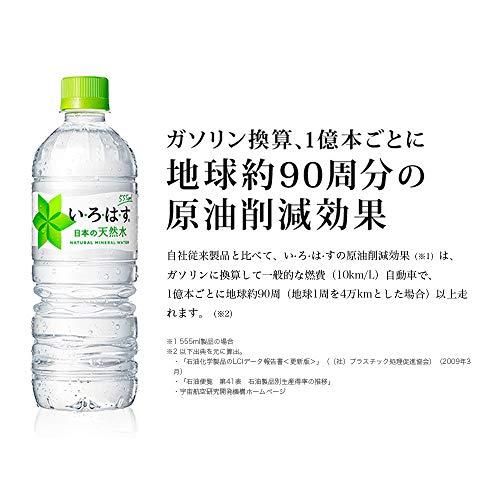 『コカ・コーラ い・ろ・は・す 天然水 555mlPET×24本』の2枚目の画像