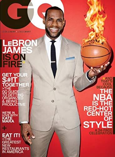 GQ Magazine (March, 2014) Lebron James Cover