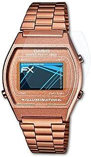 atFoliX Schutzfolie kompatibel mit Casio B640WC 5AEF Folie, ultraklare FX Displayschutzfolie (3X)