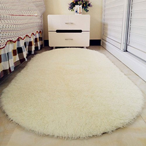 Lily's-uk Love carpet Bella Ovale Tappeto del Salone della casa Tavolino da Letto Comodino Tappeto Camera Tappeto Letto Coperta