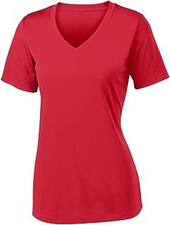 Women's Short Sleeve Moisture Wicking Athletic Shirts Sizes XS-4XL