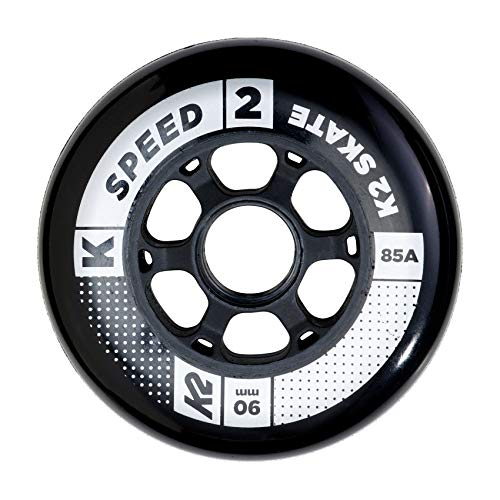 K2 Juego de Ruedas (90 mm Speed Wheel de 4 Pack, Multicolor, One Size, 30b3005.1.1.1siz