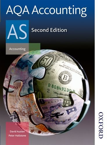 AQA Accounting AS 2nd Edition