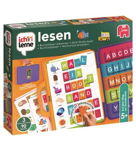 I learn Lesen Preescolar Niño/niña - Juegos educativos (Multicolor, Preescolar, Niño/niña, 5 año(s), 15 páginas, Alemán) , color/modelo surtido