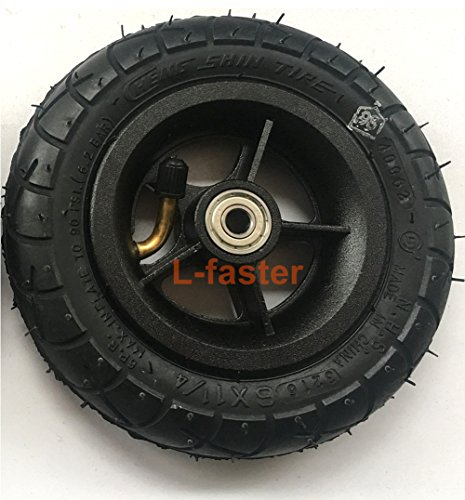 L-faster 150MM Scooter Inflation Wheel with Aluminium Alloy Hub 6