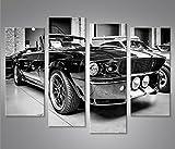 islandburner Bild Bilder auf Leinwand Mustang Shelby 4er