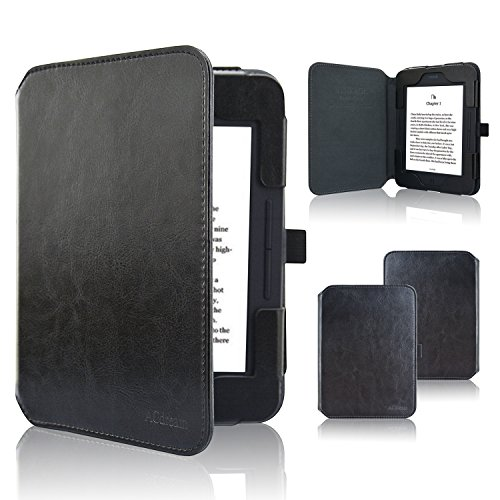 ACdream Nook GlowLight 3 Case, Folio Premium Leather Ereader Cover Case for Barnes & Noble Nook GlowLight 3 (2017 Release), (Sky Blue)