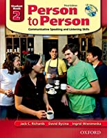 Person to Person 2: Communicative Speaking And Listening Skills