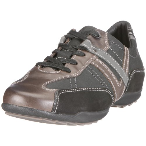 Geox Uomo Pietro U0331Y023CLC9999 - Zapatillas de Deporte de Cuero para Hombre, Color Negro, Talla 44