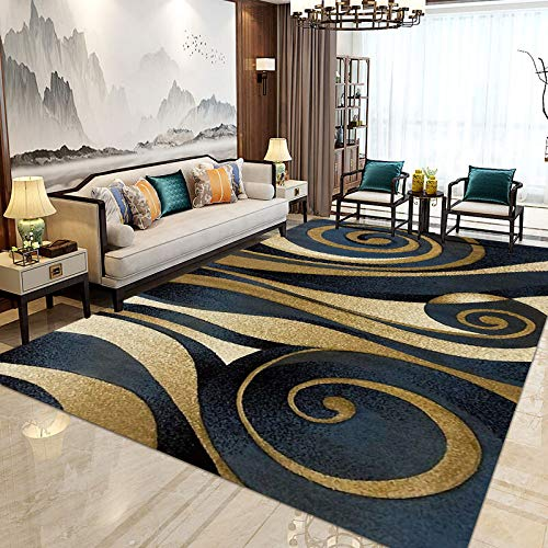QWEASDZX Nordic Living Room Carpet Long Hair Bed Blanket Living Room Coffee Table Carpet Bedroom Floor Mat Non-Slip Carpet Living Room Carpet 80x160cm