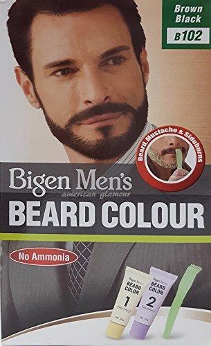 Bigen Men's Beard Colour - Bartfarbe Brown Black - Schwarzbraun 102