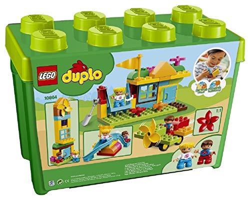 """『レゴ(LEGO) デュプロ みどりのコンテナスーパーデラックス """"おおきなこうえん"""" 10864』の2枚目の画像"""