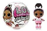 LOL Surprise Star BBs Sports Serie 3 - Equipo de Fútbol Brillante - Coleccionable - Con 8 Accesorios...