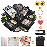 KIPIDA Explosion Box,Photo Scrapbook Creative DIY Album La Confezione Regalo per Anniversa...