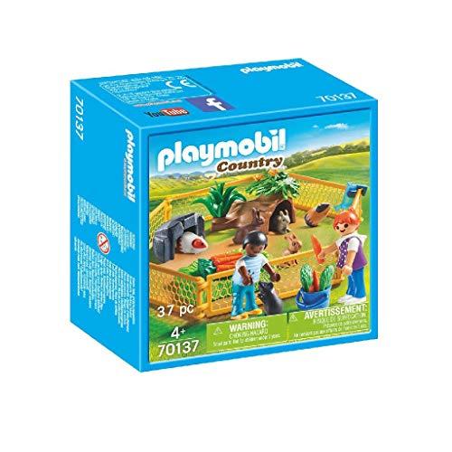 Playmobil 70137 Country Kleintiere im Freigehege, bunt