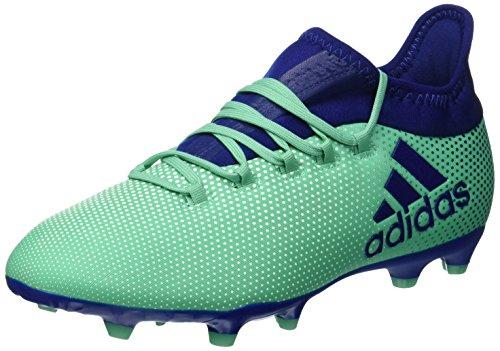 adidas X 17.1 FG J Botas de fútbol, Unisex Adulto, Azul Aerver Tinuni Vealre 000, 38 2/3 EU