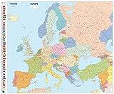 Mapa plastificado Europa Político: Wall Map: 1 (Mapas en tubo y plastificados Michelin)