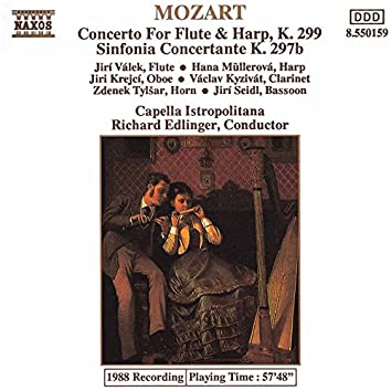 Mozart: Concerto for Flute and Harp / Sinfonia Concertante