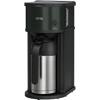 サーモス 真空断熱ポットコーヒーメーカー 0.7L ブラック ECF-701 BK