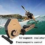 Angel Zuhause rudergerät 16-Segment-Widerstand Rudermaschine Hause elektromagnetische Kontrolle stumm zusammenklappbar abnehmen Gewichtsverlust Fitnessgeräte - 3
