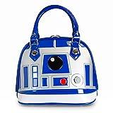 Star Wars R2-D2 Damas Bolso Mini Bolso de Color Blanco Plateado Loungefly