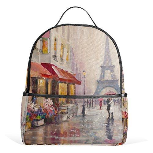 My Daily Paris - Zaino per pittura a olio, motivo: Torre Eiffel