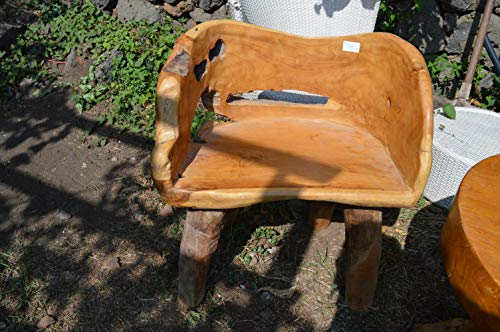 Chaise en Briar 75x54 Hauteur Assise 47 Meubles orientaux Ethniques indonésiens