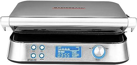 GASTROBACK 42424 Advanced Control Wafelijzer, 5 verschillende programma's, 7 bruiningsniveaus, bediening via lcd-display, ...
