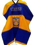 Textiles Mexicanos Mexican Soccer Teams Poncho Cobija Blanket (Tigres UANL) Yellow
