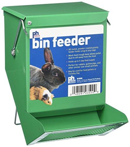 Prevue Pet Products Spv3500 Métal Petit Animal Poubelle Feeder, Vert
