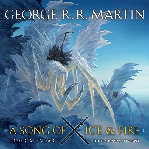 A Song Of Ice And Fire 2020 Calendar: Illustrations by John Howe (Calendars 2020)