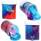 SWZY Crystal Slime, Galaxy Slime, Fluffy Slime Kit, Mezcla Nube Slime ,Slime Galaxy ,Arcilla Magica para Niños , 2pcs (Nuevo)