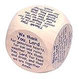 Creator Mundi The Original Mealtime Prayer Cube (Table Grace Die) for Children