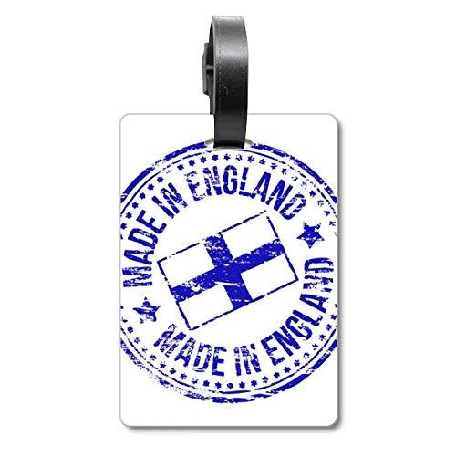Etiqueta de identificación para Maleta con la Bandera de Inglaterra