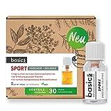 basics SPORT Vitamin Komplex Monatskur, 30 x 10ml Fläschchen, hochdosiert, Vegan mit Vitamin K, B12, D3, Mangan und Zink für den Erhalt von Knochen und Gelenken