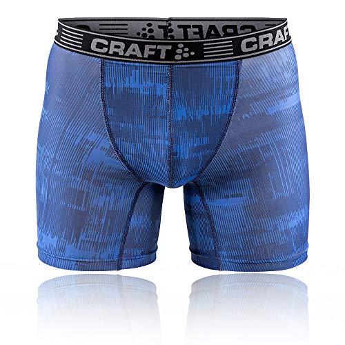 Craft Herren Boxershorts, 15,2 cm, Herren, Greatness Boxer 6-inch M, Tinge Imperial, Small