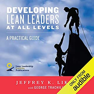 Developing Lean Leaders at All Levels cover art