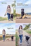 Hundeleine für kleine Hunde und mittlere Hunde aus Bambusfaser – mehrfach flexibel verstellbar – fast 3m Gesamtlänge, 2cm breit – Premium Qualität für höchste Ansprüche – Hochwertiges Nachhaltiges Material – Einzigartiger Tragekomfort – Beste Verarbeitung - 7