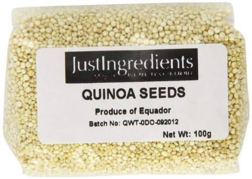 JustIngredients Essential Semillas de Quinoa - 5 Paquetes de 100 gr - Total: 500 gr