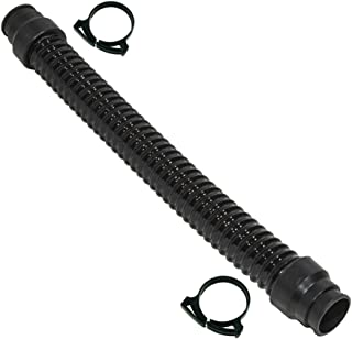 Porter-Cable 7800 Drywall Sander Vacuum Hose with 2 Clamps - Short Hose for Sanding Head