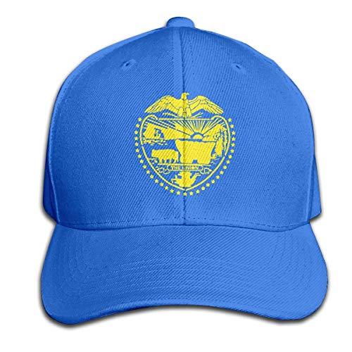 Zhgrong Caps Oregon State Flag Men Baseball Hat Trucker Hat Dad Cap Plain Cap Baseball Cap