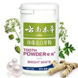 BOLUOYI Tooth Powder Toothpaste Whitening Teeth Care Remove Halitosis Plaque Dentifrice Cleaning Powd (White)
