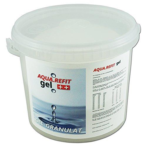 AQUA REFIT Wasserkern Vergelung in Wasserbetten, Gelbetten - Wasserbett Gel Granulat Pulver (3 kg)